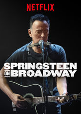 Springsteen on Broadway Netflix BR (Brazil)